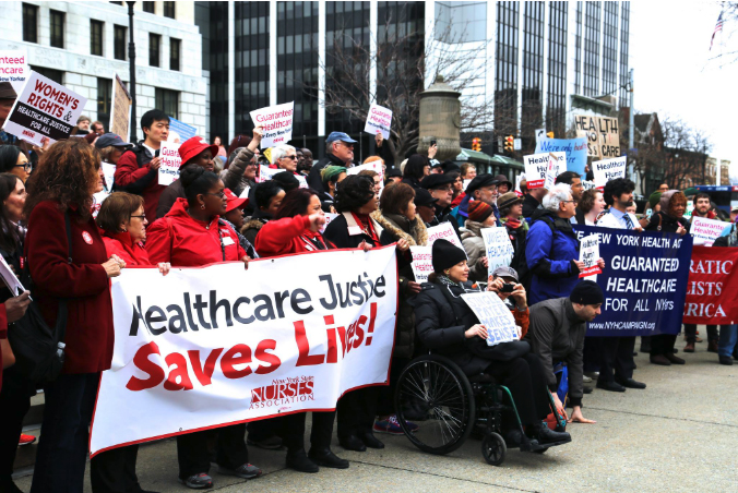Single Payer Demo in Albany