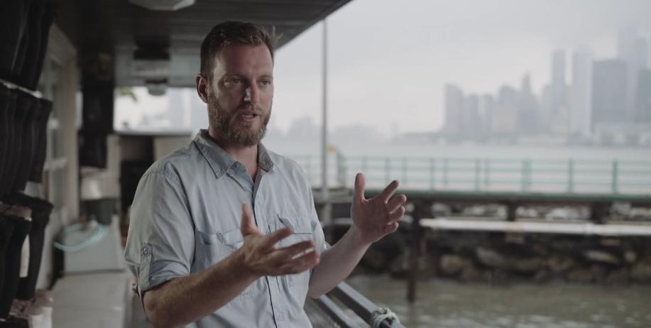 Pete Malinowski Billion Oyster Project