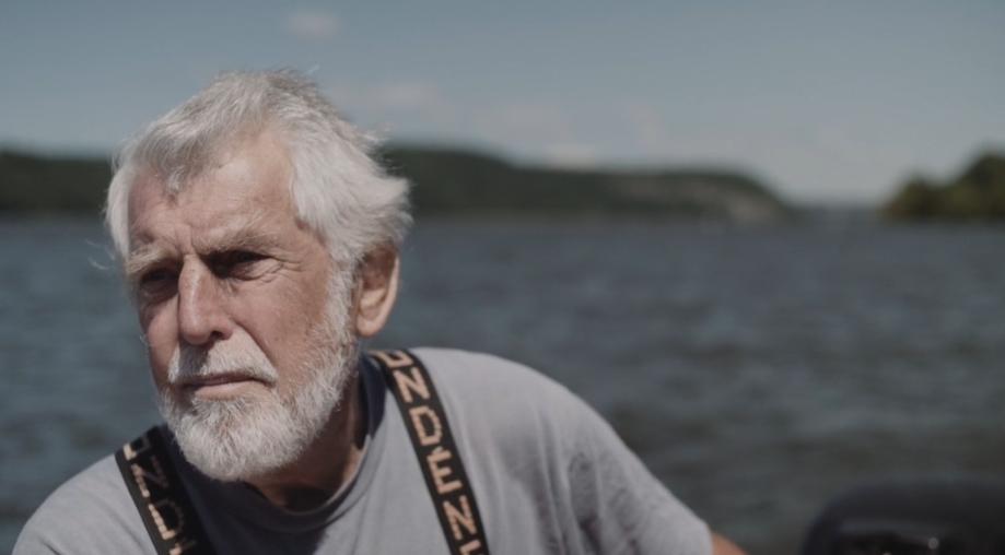 Hudson River fisherman