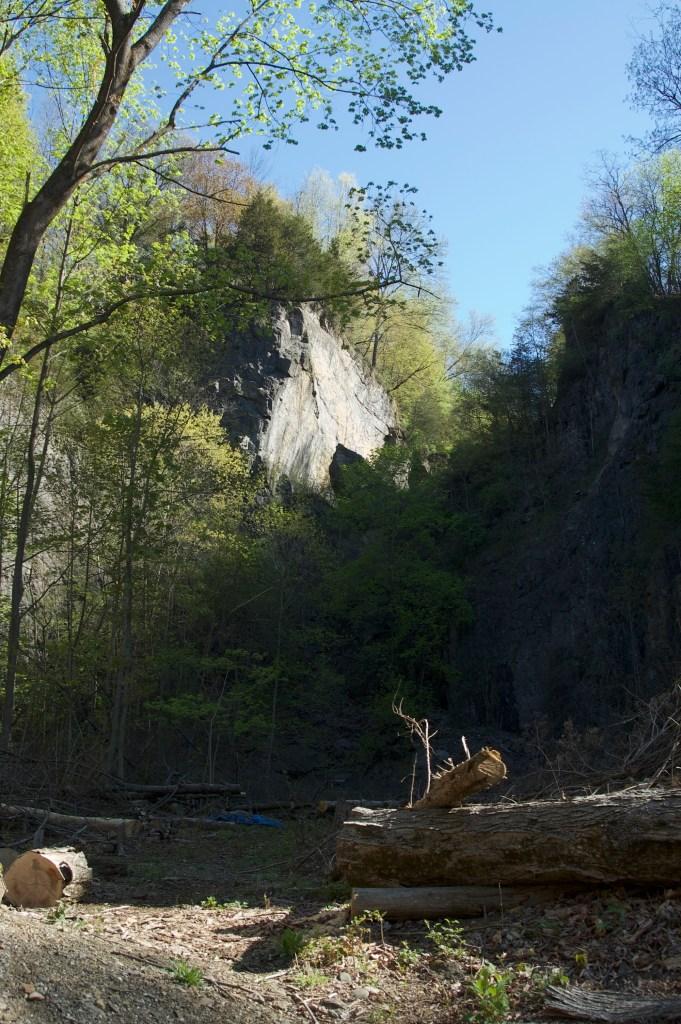 Wilbur quarry